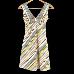 Patagonia Water Girl Seersucker Striped Dress